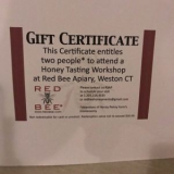 Red Bee Honey Gift Certificate